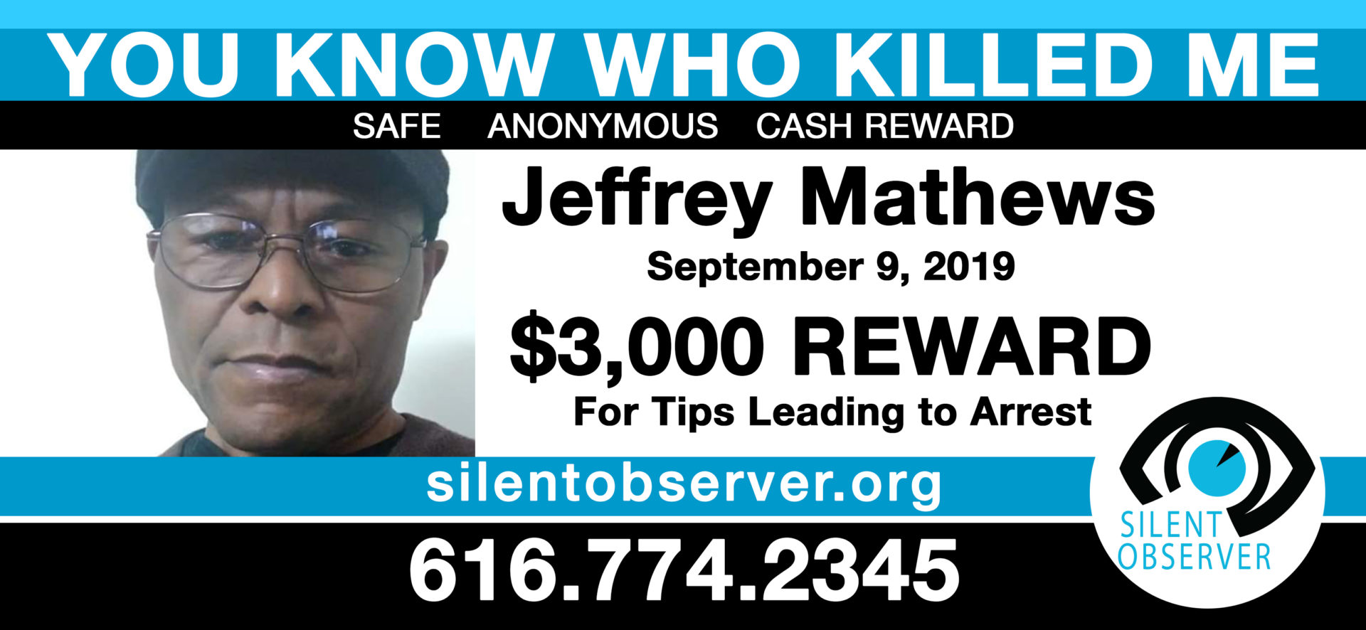 You Know Who Killed Me Jeffrey Mathews Press Release