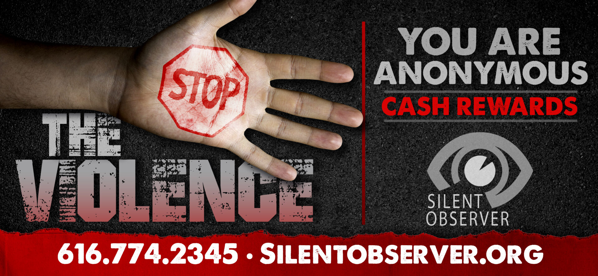 Silent Observer Increases Rewards To Help Stop The Violence